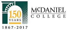 McDaniel College 150th Logo
